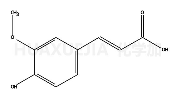 3-甲氧基-4-羟基肉桂酸