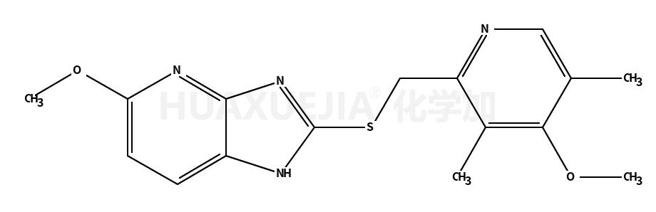 5-甲氧基-2-(4-甲氧基-3,5-二甲基吡啶-2-基)甲硫基)-3H-咪唑并[4,5-b]吡啶