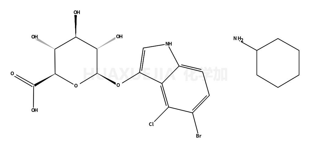 5-溴-4-氯-3-吲哚基-BETA-D-葡糖苷酸环己胺盐