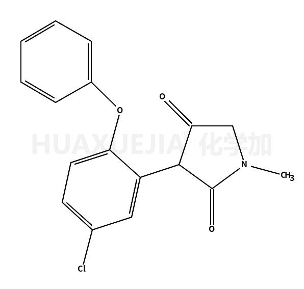 3-(5-氯-2-苯氧基苯基)-1-甲基-2,4-吡咯烷二酮