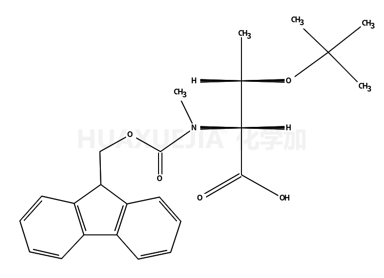 N-Fmoc-N-甲基-O-叔丁基-L-苏氨酸
