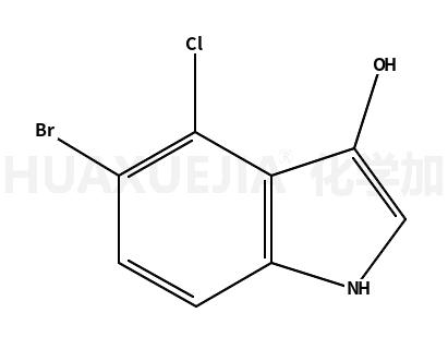 1H-Indol-3-ol, 5-bromo-4-chloro
