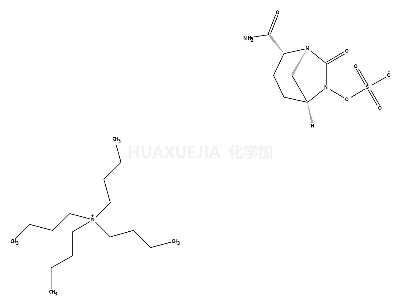 (1R,2S,5R)-2-(氨基羰基)-7-氧代-1,6-二氮杂双环[3.2.1]辛-6-基硫酸酯(四丁基铵)盐