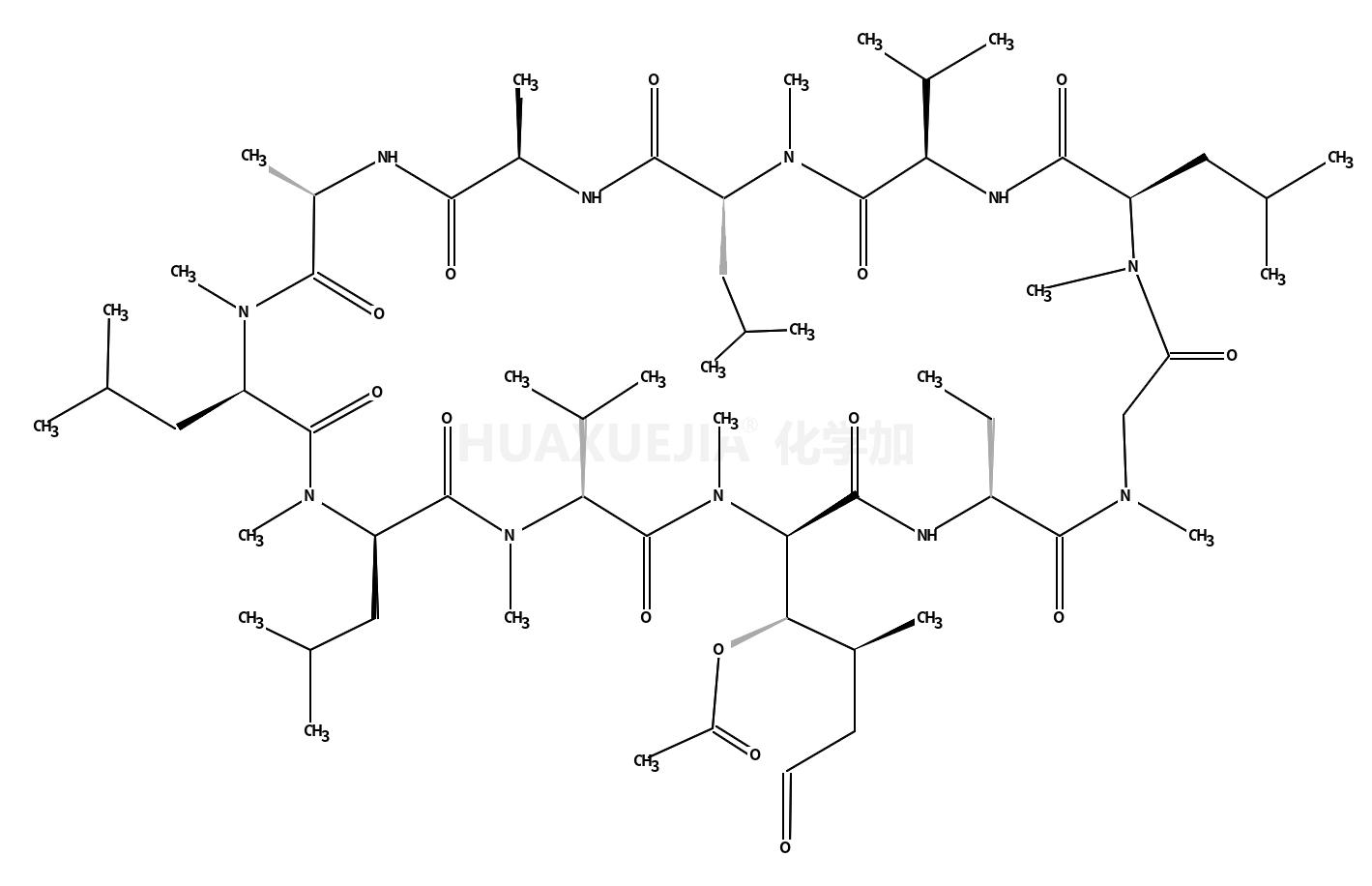 [(3R,14S)-5-(dimethylamino)-3,15-dimethyl-14-[[(2S)-4-methyl-2-(methylamino)pentanoyl]amino]-1,6,13-trioxohexadecan-4-yl] acetate