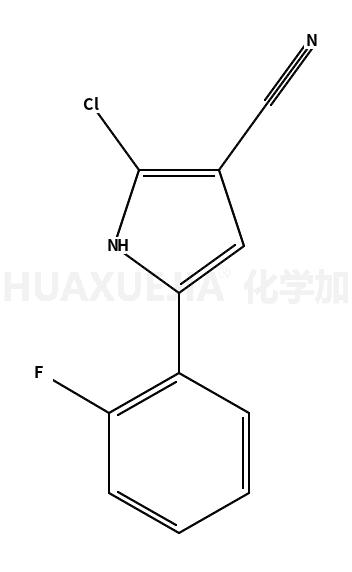 2-氯-5-(2-氟苯基)-1H-吡咯-3-甲腈