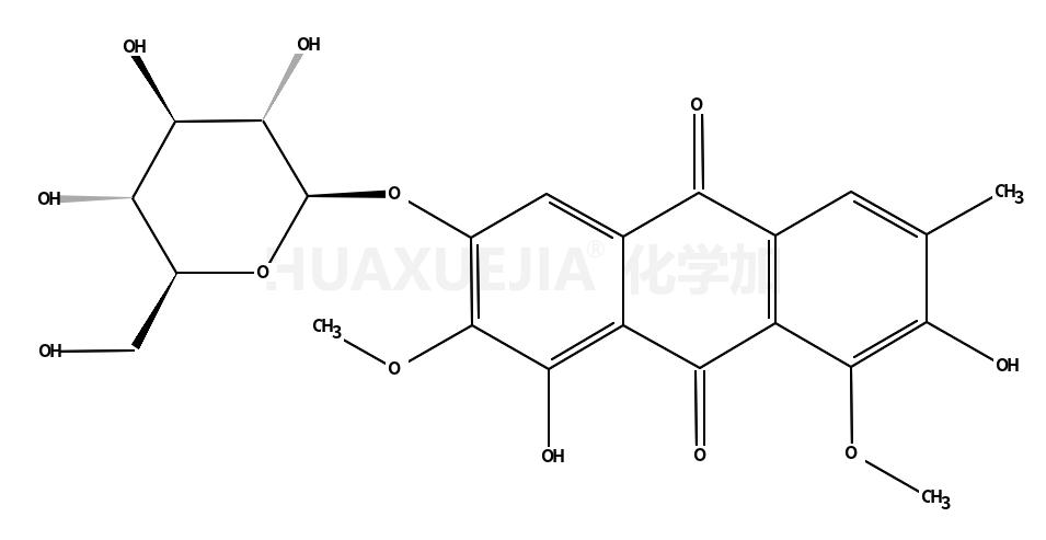 aurantio-obtusin β-D-glucoside