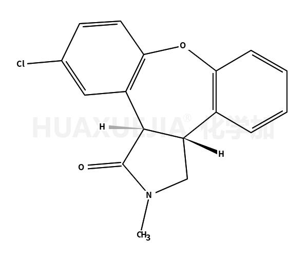 反式-(+/-)-11-氯-2,3,3a,12b-四氢-2-甲基-1H-二苯并[2,3:6,7]氧杂卓并[4,5-c]吡咯-1-酮