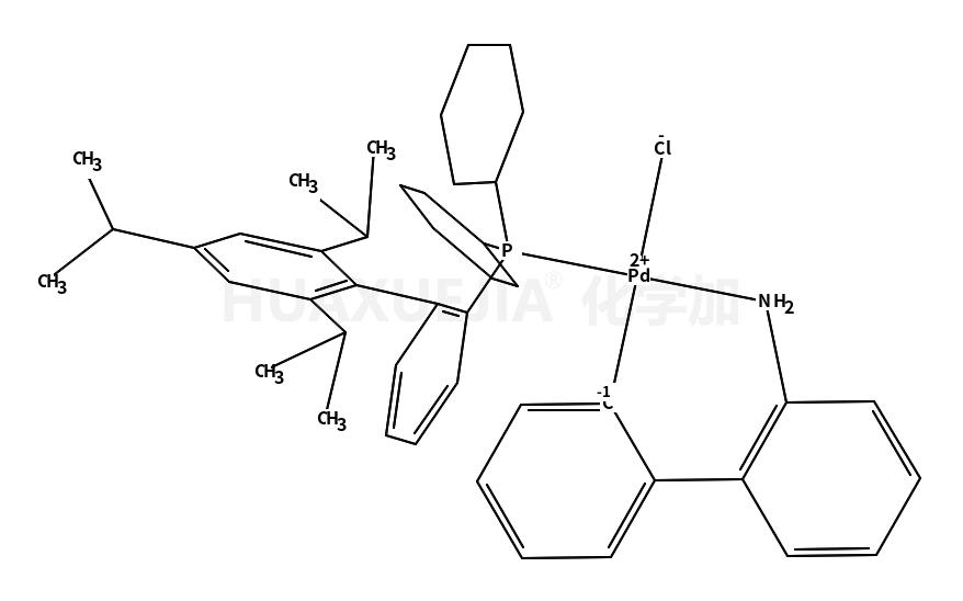 氯(2-二环己基膦基-2',4',6'-三异丙基-1,1'-联苯基)[2-(2'-氨基-1,1'-联苯)]钯(II)