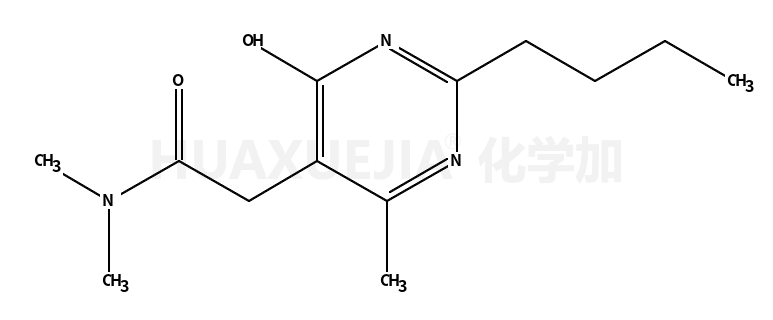 2-丁基-1,6-二氢-N,N,4-三甲基-6-氧代-5-嘧啶乙酰胺