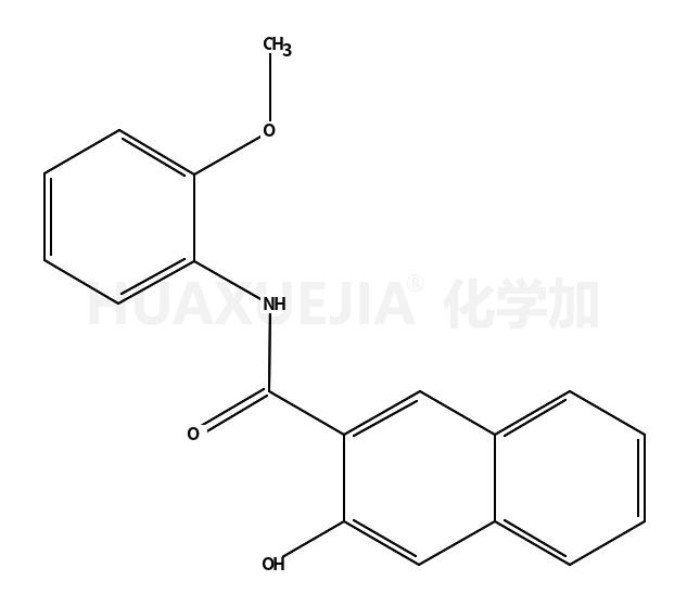 3-羟基-N-(2-甲氧基苯基)-2-萘甲酰胺