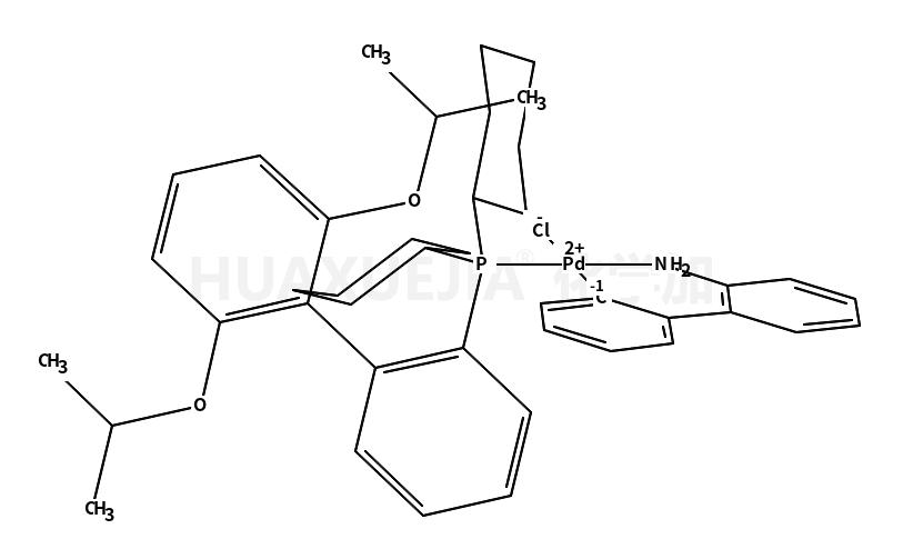 氯(2-二环己基膦基-2',6'-二-异丙氧基-1,1'-联苯基)(2-氨基-1,1'-联苯-2-基)钯(II)