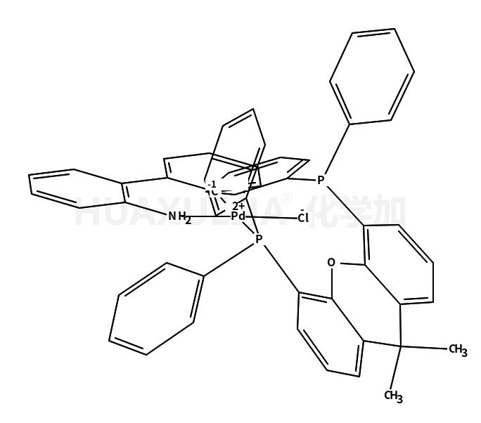 氯[(4,5-双(二苯基膦)-9,9-二甲基氧杂蒽)-2-(2-氨基联苯)]钯(II)