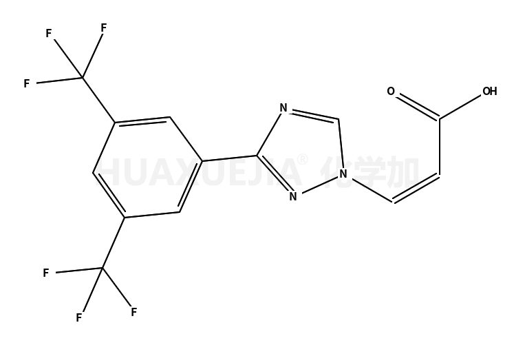 (Z)-3-(3-(3,5-双(三氟甲基)苯基)-1H-1,2,4-三唑-1-基)丙烯酸
