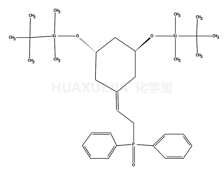 tert-butyl-[(1R,3R)-3-[tert-butyl(dimethyl)silyl]oxy-5-(2-diphenylphosphorylethylidene)cyclohexyl]oxy-dimethylsilane