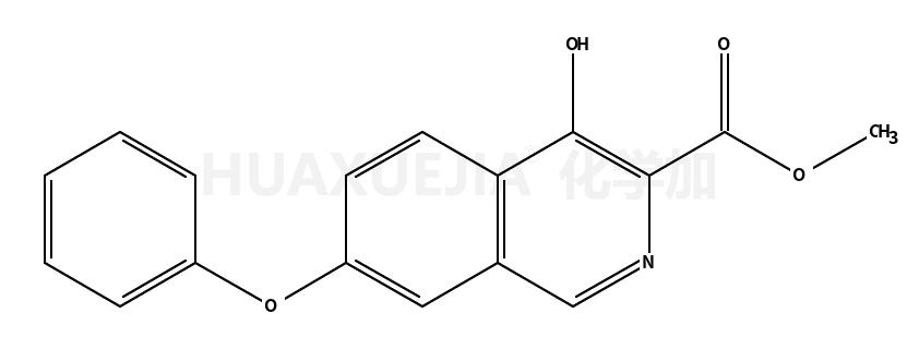 4-羟基-7-苯氧基-3-异喹啉羧酸甲酯