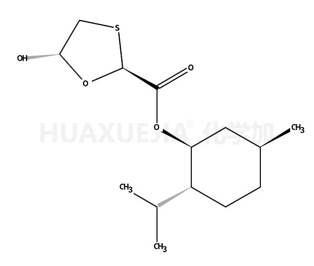 (2R,5R)-5-羟基-1,3-氧硫杂环-2-羧酸 (1R,2S,5R)-5-甲基-2-异丙基环己酯