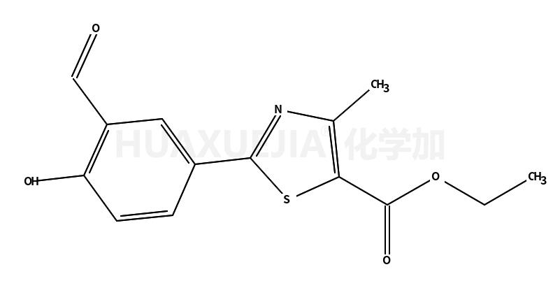 2-(3-醛基-4-羟基苯基)-4-甲基噻唑-5-羧酸乙酯