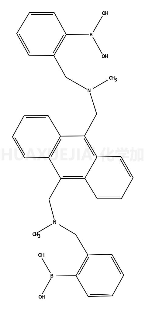 ((蒽-9,10-二酰基(亚甲基))双(甲基二酰基)双(亚甲基))双(2,1-苯基)二硼酸