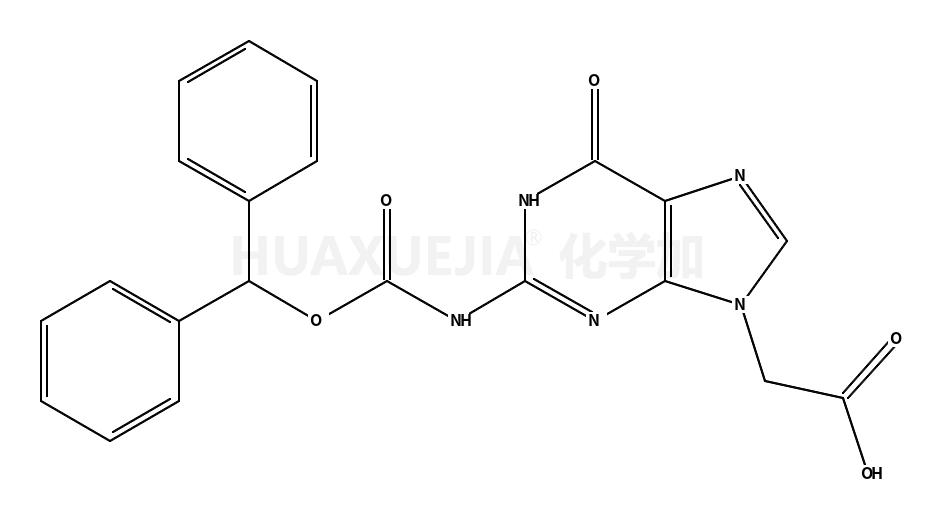 (2-二苯甲基氧基羰基氨基-6-氧代-1,6-二氢嘌呤-9-基)-乙酸