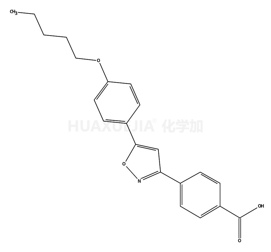 4-[5-(4-戊氧基苯基)异噁唑-3-基]苯甲酸