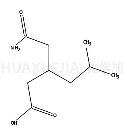3-(氨甲酰甲基)-5-甲基己酸