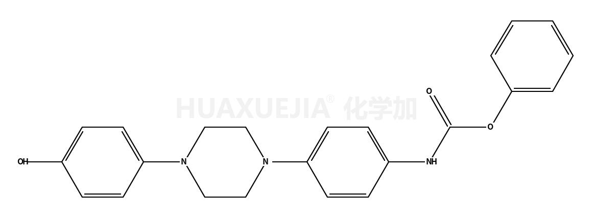 [4-[4-(4-羟基苯基)-1-哌嗪基]苯基]氨基甲酸苯酯