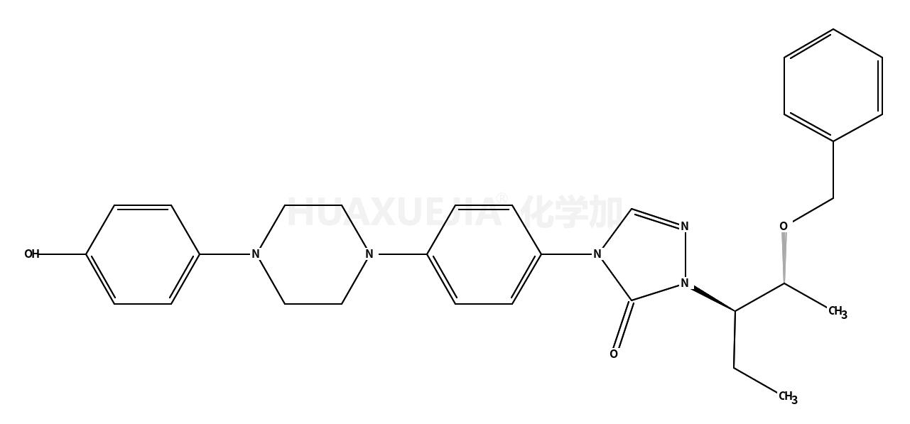 2-[(1S,2S)-1-乙基-2-苄氧基丙基]-2,4-二氢-4-[4-[4-(4-羟基苯基)-1-哌嗪基]苯基]-3H-1,2,4-三氮唑-3-酮