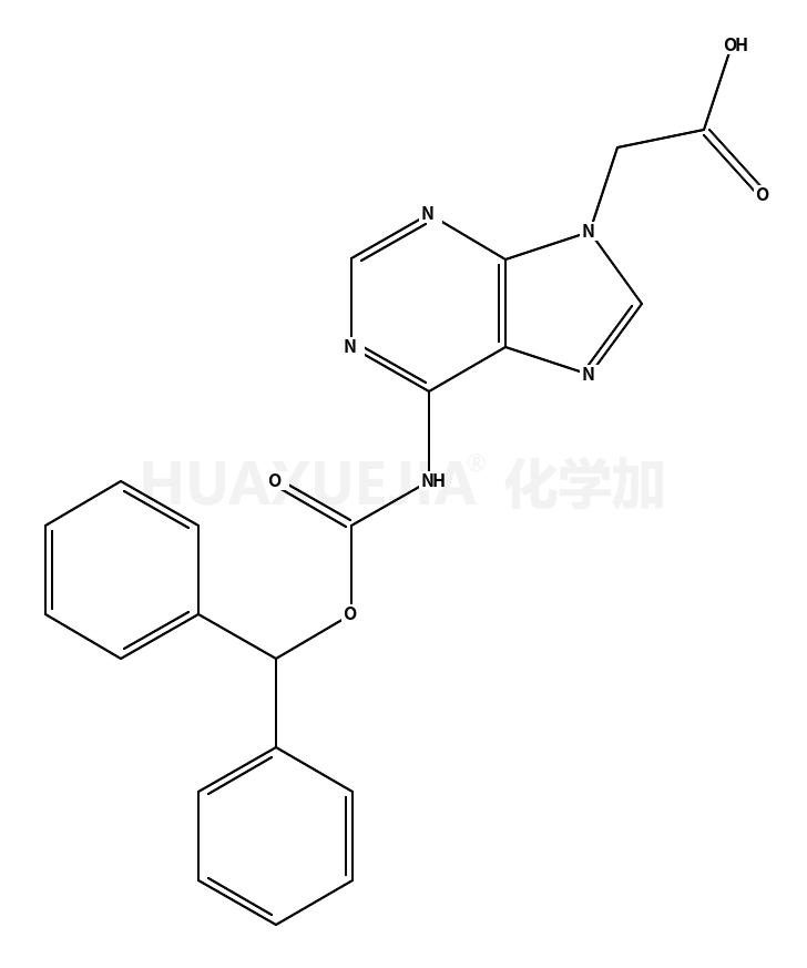 (6-苯甲基氧基羰基氨基嘌呤-9-基)-乙酸