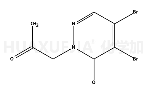 4,5-dibromo-2-(2-oxopropyl)pyridazin-3(2H)-one