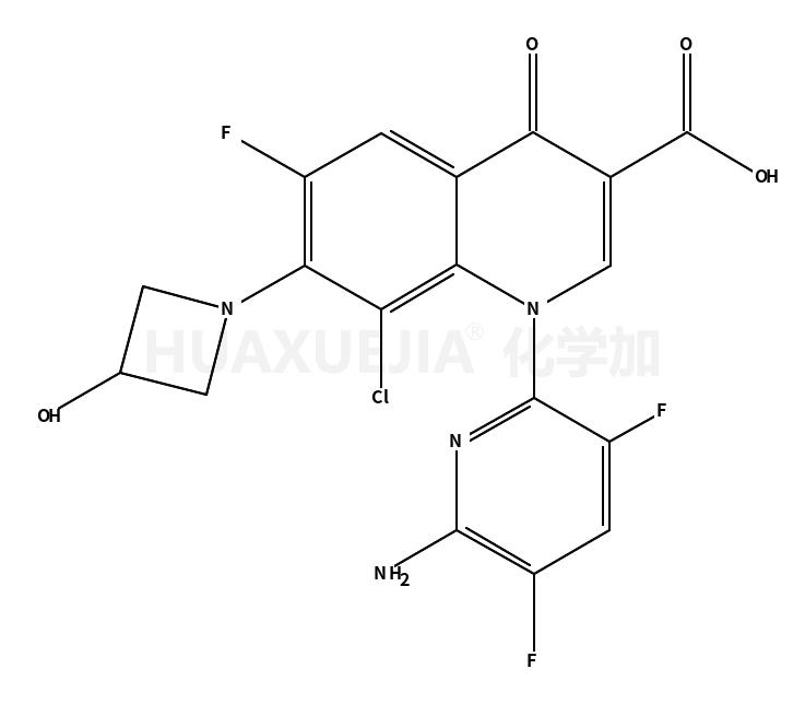1-(6-氨基-3,5-二氟吡啶-2-基)-8-氯-6-氟-7-(3-羟基吖丁啶-1-基)-4-羰基-1,4-二氢喹啉-3-羧酸