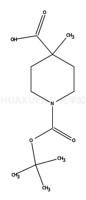 1-Boc-4-甲基-4-哌啶甲酸
