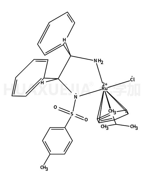 氯{[(1R,2R)-(-)-2-氨-1,2-二苯乙基](4-甲苯磺酰)氨}(P-异丙基甲苯)RUTHENIUM(II))钌(II)
