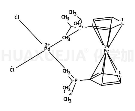 1,1′-双(二异丙基膦基)二茂铁二氯化钯