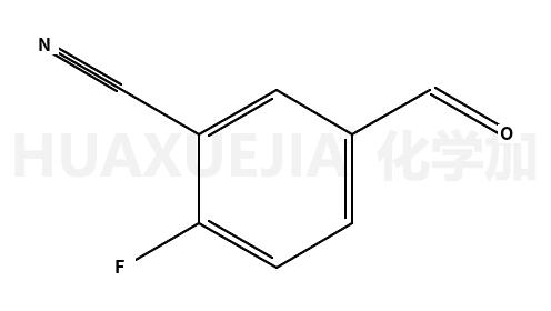 2-氟-5-甲酰基苯腈