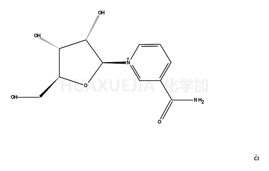 Pyridinium, 3-(aminocarbonyl)-1-β-D-ribofuranosyl-, chloride (1:1)