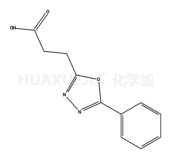 3-(5-苯基-1,3,4-噁二唑)丙酸