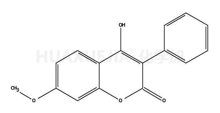 4-羟基-7-甲氧基-3-苯基香豆素