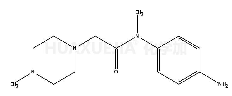 N-(4-氨基苯基)-N-甲基-2-(4-甲基哌嗪-1-基)乙酰胺