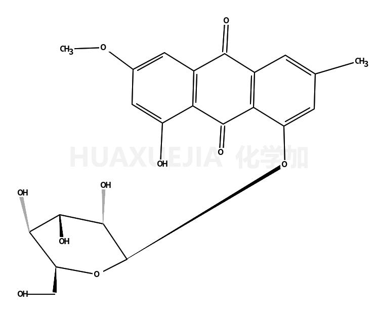 大黄素甲醚-8-O-β-D-葡萄糖苷