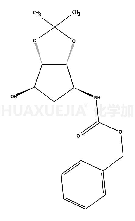 N-[(3aS,4R,6S,6aR)-四氢-6-羟基-2,2-二甲基-4H-环戊烯并-1,3-二氧戊环-4-基]氨基甲酸苄酯