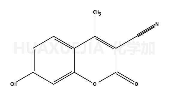 3-氰基-7-羟基-4-甲基香豆素