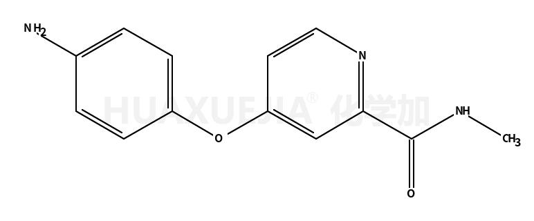 4-(4-氨基苯氧基)-N-甲基-2-吡啶甲酰胺