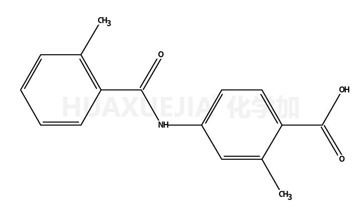 2-甲基-4-(2-甲基苯甲酰氨基)苯甲酸