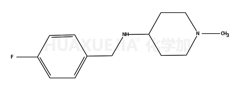 N-(4-氟苄基)-1-甲基哌啶-4-胺