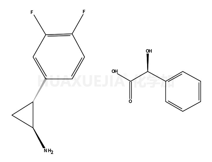 (1R,2S)-2-(3,4-二氟苯基)环丙胺 (R)-扁桃酸盐