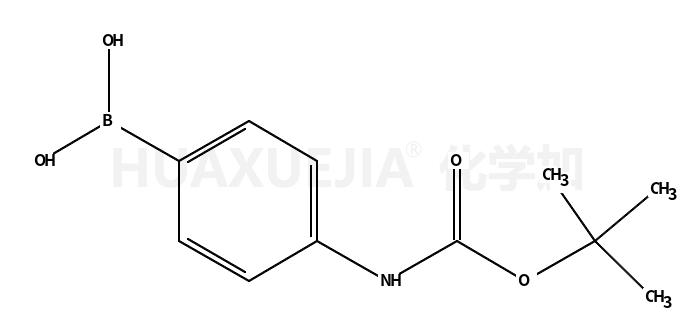 4-(N-Boc-氨基)苯硼酸