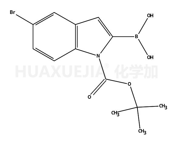 5-溴-N-(叔丁氧羰基)吲哚2-硼酸