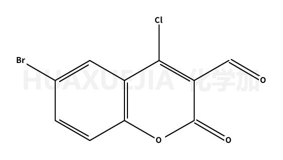 6-溴-4-氯-3-甲酰基香豆素