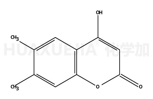4-羟基-6,7-二甲基香豆素