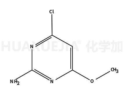 4-氯-6-甲氧基嘧啶-2-胺